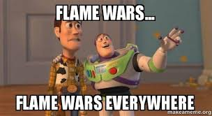 Anti Gay Meme - flame wars flame wars everywhere social media after duck