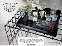 ethan allen glass coffee table ethan allen industrial chic new rebar and glass coffee table now