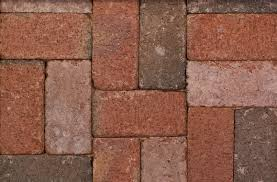 Brick Pavers Pictures by Canal Street Flashed Paver 209 Red Pavers