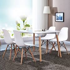set of 4 modern dining chairs kitchen u0026 dining room chairs