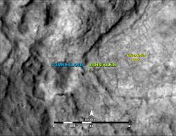 target black friday map 2012 rover team selects second drilling target on mars