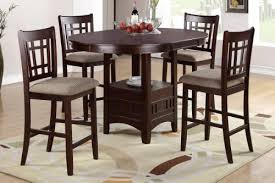 oval counter height dining table pesaro 5 pieces counter height oval table and 4 chairs