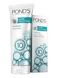 Ponds Baru pond s acne solution untuk wajah bersih dari jerawat