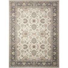 Nourison Area Rugs Gray 4 X 6 Nourison Area Rugs Rugs The Home Depot
