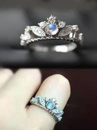 33 best rings images on pinterest moonstone engagement rings