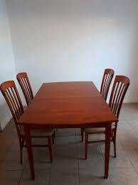 cuisine en dur table chaises de cuisine en bois dur de construction supérieur