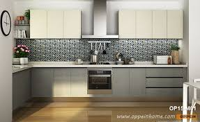 grey painted kitchen cabinets modern melamine kitchen cabinet in white grey color op15
