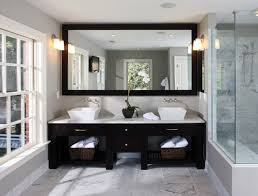 cool design oversized bathroom mirrors large framed wall vanity