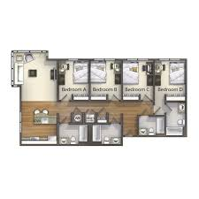 4 bedroom valentine commons