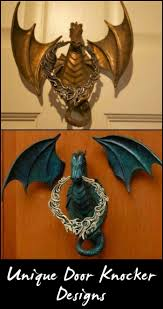 add charm to your entry with these unique door knockers home