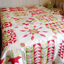 christmas quilt a quilting life a quilt blog