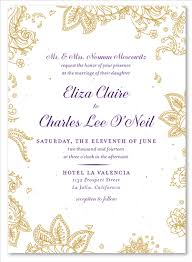 wedding invitations indian paisley wedding invitations on seeded paper indian smile by