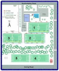 Fc Dallas Field Map by Playing Facilities