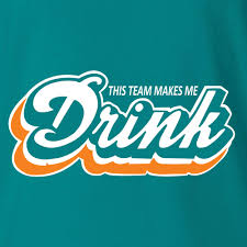 Miami Dolphins Rug Miami Dolphins T Shirt This Team Make Me Drink Funny Football
