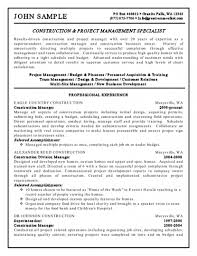 Sample Resume Templates Pdf by Doc 600760 Sample Resume Operations Manager 5 Business Examples