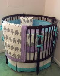 bedroom round cribs jcpenny crib bedding oval baby crib