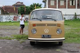 volkswagen van front view pictures of the classic vw in indonesia classiccult