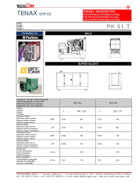 pk51t 1 mains electricity diesel engine