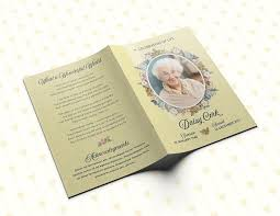 program for funeral service funeral program floral funeral program personalized memorial