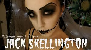 jack skellington and sally halloween desktop background 2016 jack skellington halloween makeup tutorial youtube