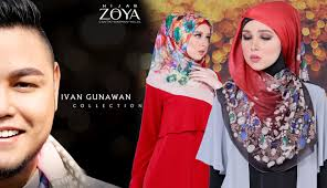 jilbab zoya til cantik dan modis di hari kemenangan bersama jilbab zoya