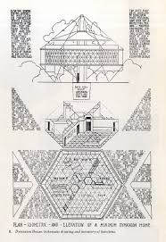 architectural drawing buckminster fuller from john mchale 1962
