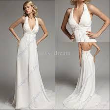 halter neck sheath wedding dress ivo hoogveld