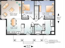 modern home plan house plan w3148 detail from drummondhouseplans com