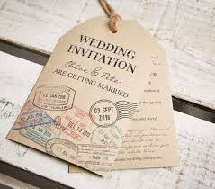 themed luggage tags vintage style kraft luggage tag wedding invitations and rsvp s