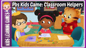 pbs kids games classroom helpers youtube