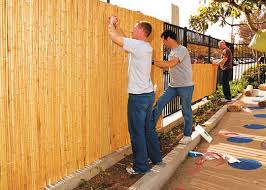 bamboo patio fence home design ideas and pictures