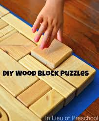 Kids Wood Crafts - best 25 wooden block puzzle ideas on pinterest diy wooden toys