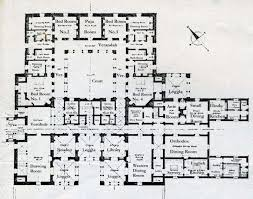 house plans center courtyard single floor arts
