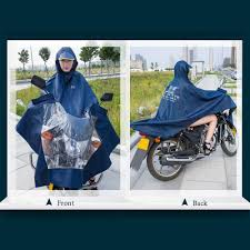 raincoat for bike riders super water resistant thick denim motorcycle raincoat sales online