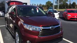 toyota highlander 2015 kathy u0027s 2015 toyota highlander limited platinum by gerald youtube