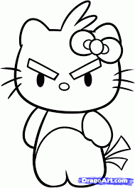 draw kitty angry bird step step characters pop