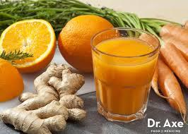 orange carrot ginger juice recipe dr axe
