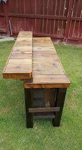diy wooden pallet outdoor bar collections recycled pallet ideas