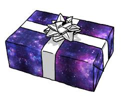 purple gift wrap purple space fabric inspirationz spoonflower