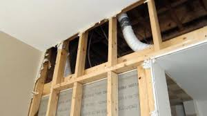 where do bathroom fans vent to poorly installed bath fan vents can cause serious problems orange