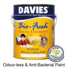 davies bio fresh buy odour less u0026 anti bacterial paint product