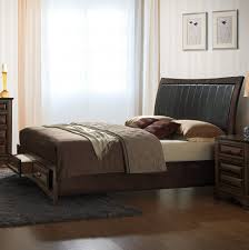 bedroom rustic platform frame with metal legs oversized how to