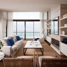 apartments minimalist modern penthouse design with rectangle