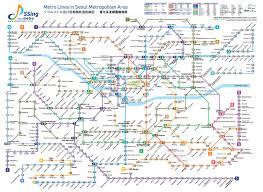 Korean Subway Map by Trundling Across Seoul U2013 Transportation And The Megapolis