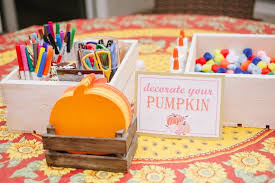 Fall Party Table Decorations - kara u0027s party ideas