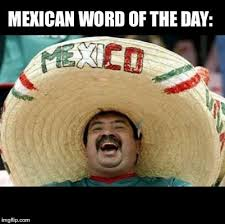 Word Meme Generator - mexican word of the day large meme generator imgflip