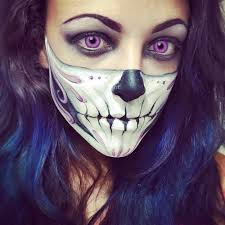 purple skull 10 y skeleton makeup ideas you should wear this