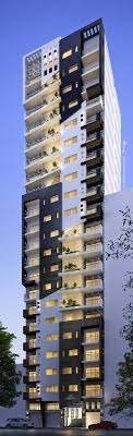 Loran Highrise Residential Apartment Building On Behance LUXURY - Apartment building designs