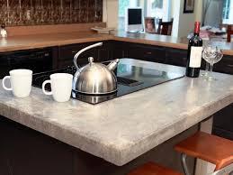 Concrete Kitchen Countertops Concrete Kitchen Countertops With White Cabinets U2014 Unique