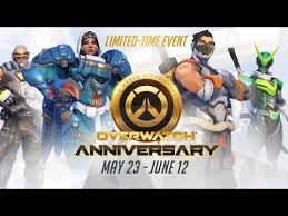 overwatch anniversary event now live bringing new maps skins